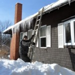Roof Raking ~ Winter in Hampstead NH