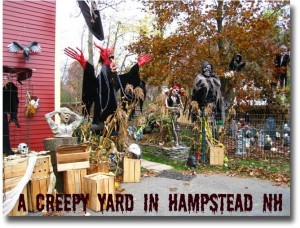 Halloween in Hampstead NH