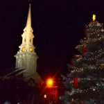 Portsmouth NH Holiday Tree Lighting