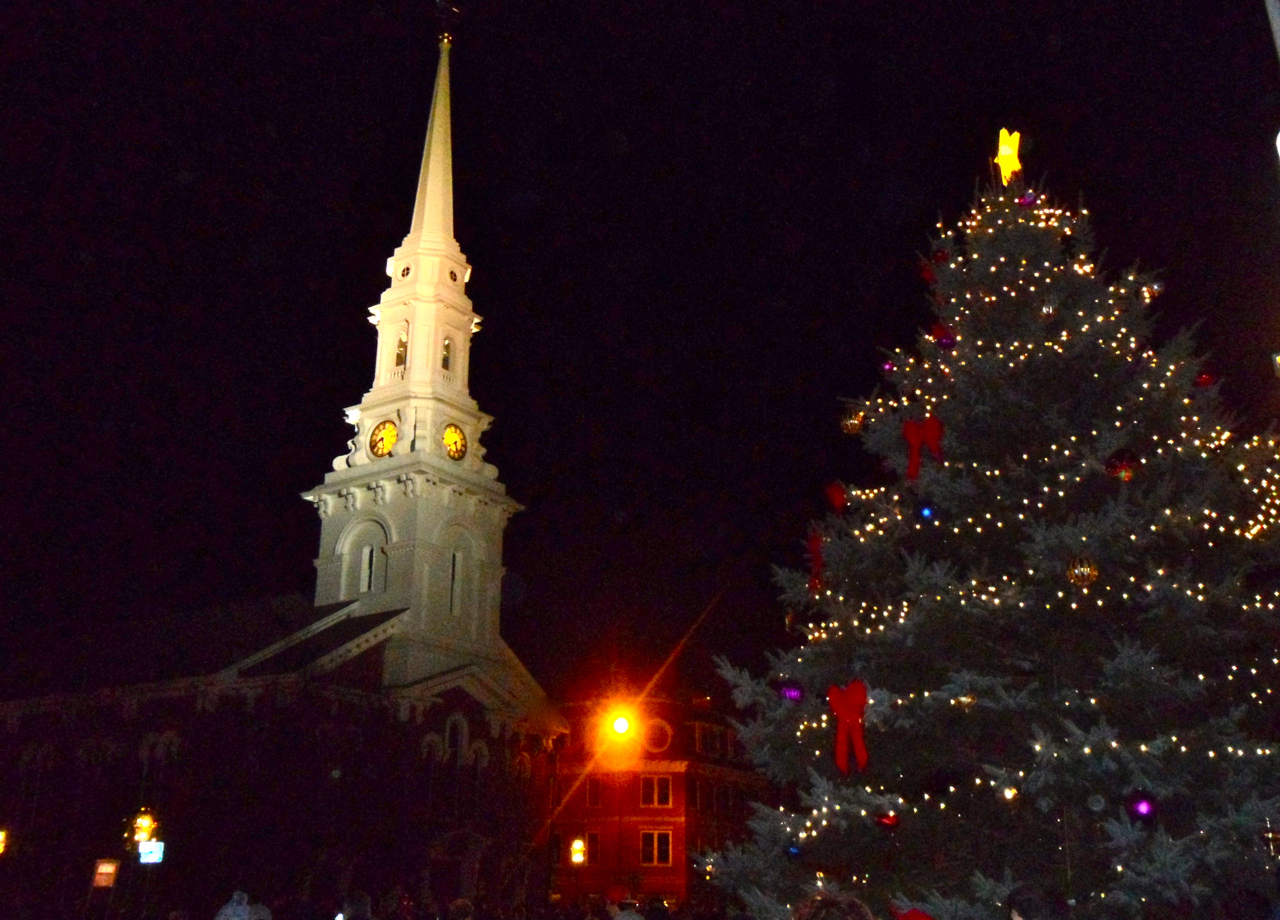 Christmas Tree Collection Portsmouth : Portsmouth nh holiday tree lighting real estate