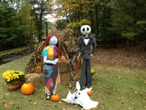 Chester NH Scarecrows