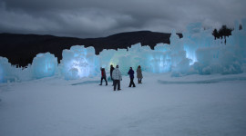 Center of the ice castles