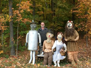 Chester NH Real Estate and Scarecrows